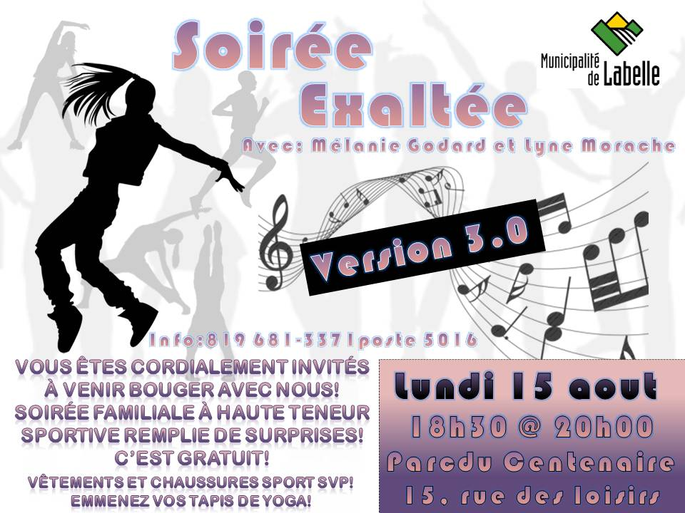soiree exaltee 15 aout