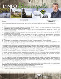 Pages de Info municipale juillet 2016