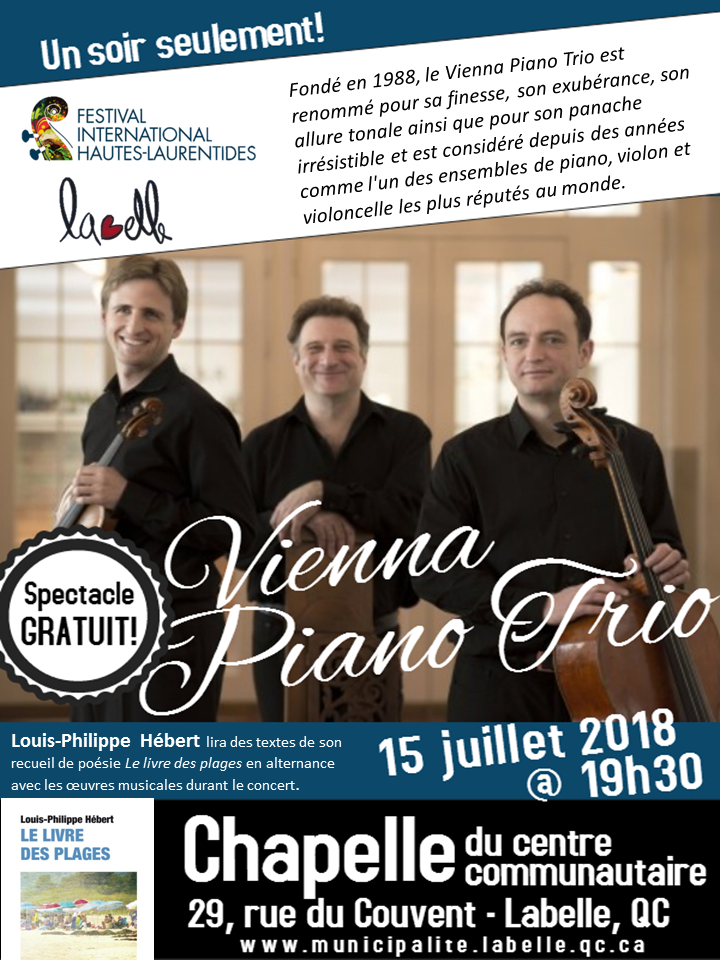 spectacle Vienna piano trio
